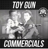 Funny, Memes, and School: TOY GUN  1773  COMMERCIALS Make Pew Pew Toy Gun Commercials Great Again 🇺🇸 Funny how we had these commercials and we had zero school shootings or shootings over video games.