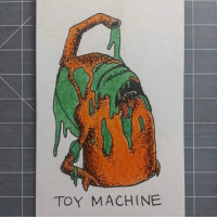 Memes, 🤖, and Machine: TOY MACHINE About last night... Artwork by @catacomb_king