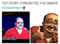 @mrkennethbone has all the Kenneth Bone memes you'll ever need.: TOY STORY 2 PREDICTED THE DEBATE  #Debate Night  th Bone Uncommitted Voter  COND PRESIDENTIAL DEBATE @mrkennethbone has all the Kenneth Bone memes you'll ever need.