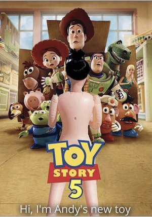 Andy is a guy...: TOY  STORY  Hi, I'm Andy's new toy Andy is a guy...