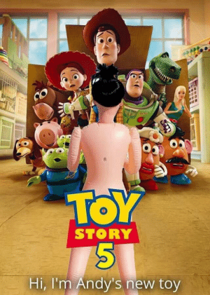 Game over!!: TOY  STORY  Hi, I'm Andy's new toy Game over!!