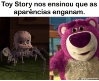 Memes, Toy Story, and 🤖: Toy Story nos ensinou que as  aparencias engananm  @instacinemas Muito cuidado, as aparências enganam! Toy Story me ensinou isso desde cedo. toystory . . Peguei lá no @instacinemas e se você é fã de filmes e série, só vai! hahah