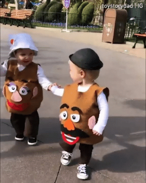 We stick together and we see it through~🥔🥔  By Toy Story Dad: toystorydad | IG  H We stick together and we see it through~🥔🥔  By Toy Story Dad