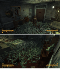 """Dinosaur, Life, and Target: TP  AP   TP  AP <p><a class=""""tumblr_blog"""" href=""""http://the-illusion-of-sanity.tumblr.com/post/105045760920/at-one-point-in-fallout-new-vegas-you-can-buy"""" target=""""_blank"""">the-illusion-of-sanity</a>:</p> <blockquote> <p>At one point in Fallout: New Vegas you can buy 1000 little green dinosaur souvenirs for no reason at all. Naturally I spent two hours to individually drop them out of my inventory into my motel room.</p> <p>If someone asks you for the meaning of life, send them this.</p> </blockquote>"""