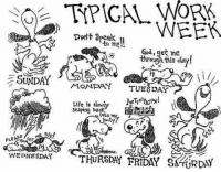 Friday, God, and Life: TPICAL Port WEEK  to mel!  God, get me  ugh this day!  MONDAY  TUESDAY  Life is  Sea Ping into  SE  PLE.  WEDNESDAY  THURSDA FRIDAY  SA URDAY