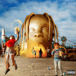 ASTROWORLD ALBUM COVER: TR  PARENTAL  ADVISORY  EXPLICIT CONTENT ASTROWORLD ALBUM COVER