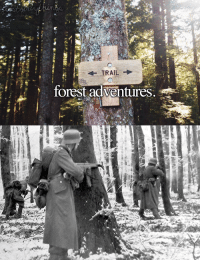 Battle of Bulge, winter 1944/1945 - Yappir: TRA  forest adventures. Battle of Bulge, winter 1944/1945 - Yappir