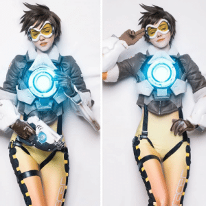Cosplay, Overwatch, and Tracer: Tracer cosplay by Shirogane (Overwatch)
