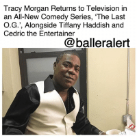 "Fresh, Jordan Peele, and Memes: Tracy Morgan Returns to Television in  an All-New Comedy Series, 'The Last  O.G.', Alongside Tiffany Haddish and  Cedric the Entertainer  @balleralert Tracy Morgan Returns to Television in an All-New Comedy Series, 'The Last O.G.', Alongside Tiffany Haddish and Cedric the Entertainer - blogged by: @ashleytearra ⠀⠀⠀⠀⠀⠀⠀ ⠀⠀⠀⠀⠀⠀⠀ After being delayed from its initial premiere date last year, the Tracy Morgan-led comedy series, 'The Last O.G.', is finally happening. ⠀⠀⠀⠀⠀⠀⠀ ⠀⠀⠀⠀⠀⠀⠀ Created by Jordan Peele and John Carcieri, the awaited thirty-minute-long sitcom follows Tray (Morgan), an ex-con who's struggling with learning how to adjust to the modern-day society after spending fifteen years in prison. ⠀⠀⠀⠀⠀⠀⠀ ⠀⠀⠀⠀⠀⠀⠀ Fresh out of the pen, Tray returns to his ""newly-gentrified"" Brooklyn stomping grounds, but he quickly realizes that the hood isn't the only thing that has changed; the people in it have, too. ⠀⠀⠀⠀⠀⠀⠀ ⠀⠀⠀⠀⠀⠀⠀ He discovers that his former girlfriend, Shay (Tiffany Haddish), has up and married a wealthy white man, who's also helping raise the set of twins who he never knew that he had. ⠀⠀⠀⠀⠀⠀⠀ ⠀⠀⠀⠀⠀⠀⠀ Overwhelmed by the newfound responsibilities, but also wanting to step up and fill the shoes that he never had the chance to fill… as a father, Tray reverts back to the old ways that he often used to survive behind bars in an attempt to make ends meet. ⠀⠀⠀⠀⠀⠀⠀ ⠀⠀⠀⠀⠀⠀⠀ Cedric the Entertainer stars as the manager of the halfway house that Tray temporarily stays at, while rising actors Taylor Mosby and Dante Hoagland will portray the twins. ⠀⠀⠀⠀⠀⠀⠀ ⠀⠀⠀⠀⠀⠀⠀ 'The Last O.G.' is executive produced by Morgan, alongside Peele, Carcieri, Eric and Kim Tannenbaum, and Joel Zadak. It is set to premiere on April 3rd at 10:30 p.m. EST, exclusively on TBS. Are you here for this?"