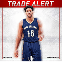 Philadelphia 76ers and New Orleans Pelicans are in advanced talks on Jahlil Okafor-to-the-Pels trade.   The teams have not yet signed off on the trade but the latest talks have NOLA shipping Alexis Ajinça and a future first for Jahlil Okafor, according to ESPN's Marc Stein.  #VNdesign: TRADE ALERT  VN DESIGN  fOYraVNDSGN Philadelphia 76ers and New Orleans Pelicans are in advanced talks on Jahlil Okafor-to-the-Pels trade.   The teams have not yet signed off on the trade but the latest talks have NOLA shipping Alexis Ajinça and a future first for Jahlil Okafor, according to ESPN's Marc Stein.  #VNdesign