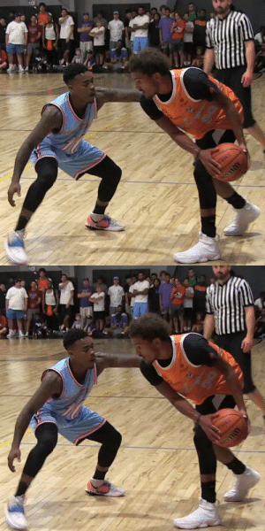 Trae Young showed up to a OKC summer league game last night 👀 https://t.co/75AmMsZods: Trae Young showed up to a OKC summer league game last night 👀 https://t.co/75AmMsZods