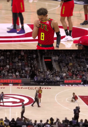 Trae Young wore #8 tonight and also took an 8-second backcourt violation to start the game in honor of Kobe. 🙏 https://t.co/f3cxZ78cdz: Trae Young wore #8 tonight and also took an 8-second backcourt violation to start the game in honor of Kobe. 🙏 https://t.co/f3cxZ78cdz