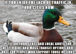 Traffic has been great since the lockdown. Let's keep it that way.: Traffic has been great since the lockdown. Let's keep it that way.