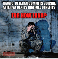 Memes, North Carolina, and Scandal: TRAGIC: VETERAN COMMITSSUICIDE  AFTER VA DENIES HIMFULL BENEFITS  FOR HOW LONG We have another tragedy involving Veterans Affairs: a Navy veteran, Paul Shuping, killed himself in the parking lot of a VA hospital in Durham, North Carolina. He used a .22 caliber rifle to end his life after being denied full benefits. The issues with the VA hospital system are vast. We have a dentist who may have infected hundreds with HIV; we all know about the secret wait lists that may have led to the deaths of at least 300,000 veterans waiting for health care; we know about the endless red tape; and we know that VA supervisors falsified the patient wait times at facilities in several states. There's also a question about the allocations of resources. While veterans waited for health care, the VA decided to spend $420 million on solar panels. Oh, and let's not forget the horrific incident where a veteran fell to the floor in intense pain because a nurse wouldn't give him a bed. You can add this tragedy into the annals of the VA's persistent incompetence that has led to fatalities. All this shit pisses me off! Almost 3 years after the veteran scandal in 2014 the Obama administration and the Democrats could not do anything to improve the attitude of officials and VA physicians to those who courageously and bravely fought for the country. The Democrats have shown not only inability to solve problems of veterans, but also unwillingness to do anything to help former US military. Obama during his presidential term assisted anyone - deserters (Bob Bergdahl), refugees, American Muslims and gays, but not those who really bear on their shoulders the burden of defending America. Trump's administration and Congress should address the problems of veterans without delay. Trump wants to make America great again, but nothing reflects the greatness of the country better than its attitude to the former military. I hope he will be able to bring about change. veteranscomefirst veterans_us Veterans Usveterans veteransUSA SupportVeterans Politics USA America Patriots Gratitude
