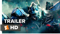 Anthony Hopkins, Memes, and Transformers: TRAILER  F HD Anthony Hopkins voice-overs a dark new Transformers: The Last Knight Trailer.   Starring: Mark Wahlberg & Laura Haddock