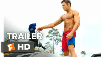 Memes, The Rock, and Zac Efron: TRAILER  F HD Check out the new Baywatch Movie Trailer 1!  Starring: Dwayne The Rock Johnson, Zac Efron, and Alexandra Daddario