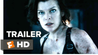 Ali, Memes, and Milla Jovovich: TRAILER  F HD Check out the new Resident Evil Trailer!  Starring: Ruby Rose, Milla Jovovich, and Ali Larter