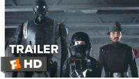 Memes, Rogue, and Star: TRAILER  F HD Check out the new 'Rogue One: A Star Wars Story' Trailer!  Starring: Ben Mendelsohn, Felicity Jones, and Mads Mikkelsen