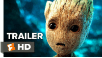 Definitely, Memes, and Definition: TRAILER  F HD New Guardians of the Galaxy 2 trailer is here! Baby Groot is definitely going to steal the show. 😍