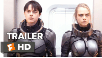 Watch New 'Valerian and the City of a Thousand Planets' Trailer and visit a universe without boundaries. 🌙🌟  Starring: Cara Delevingne & Dane DeHaan: TRAILER  F HD Watch New 'Valerian and the City of a Thousand Planets' Trailer and visit a universe without boundaries. 🌙🌟  Starring: Cara Delevingne & Dane DeHaan