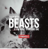 Gymaholic: TRAIN WITH  IF YOUWANT BECOMEONE  GYMAHOLIC