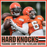 It's time. #HardKnocks with the @Browns starts NOW on @HBO! https://t.co/oAdIT6BHKP: TRAINING CAMP WITH THE CLEVELAND BROWNS It's time. #HardKnocks with the @Browns starts NOW on @HBO! https://t.co/oAdIT6BHKP
