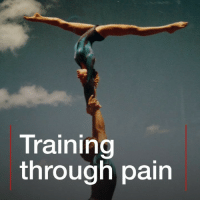 Britney Spears, Climbing, and Memes: Training  through pain Climbing through the pain. Christine Van Loo is a world-famous aerialist who's performed with Britney Spears and Paul McCartney. So how did she get to the top? gymnastics acrobatics flexibility sport inspiration bbcnews