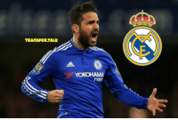 Memes, Rivals, and Cesc Fabregas: TRANS FeRTALK  YOKOHAMA Real want to sign Chelsea's 29-year-old midfielder Cesc Fabregas - who used to play for rivals Barcelona - in the summer transfer window.