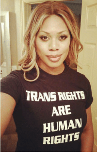 Target, Tumblr, and Blog: TRANS RGHTS  ARE  HUMAN  RIGHTS femestella:Laverne Cox: Stop Saying Trans Women Benefit From Male Privilege