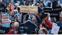 Youth, Ddoi , and  Trans: TRANS RIGHTS  HUMAİ RIGHTS  IST  ARE  RESISTRESIST  RESIST  PROTECT  TRANS  YOUTH  UYOURRIGHTS  PROTEC  UR  IST  ES