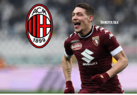 Memes, Acmilan, and Andrea: TRANSFER.TALK  7899  erett  SUZUK Torino have reportedly turned down an offer for Andrea Belotti from ACMilan that included two players. - La Gazzetta dello Sport says Milan bid €70m plus M'Baye Niang and GabrielPaletta, but Torino are determined not to sell the striker. - transfer transfers transfernews transfertalk transferrumour