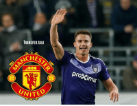 ManUnited given Dendoncker boost: - 'We want to cherish him, but if a club is willing to pay €25-35 million (£22-27m), we have a problem,' Anderlecht's sport manager Herman Van Holsbeeck told Het Belang van Limburg.: TRANSFER.TALK  CHE  proimus  UNITE  VITED ManUnited given Dendoncker boost: - 'We want to cherish him, but if a club is willing to pay €25-35 million (£22-27m), we have a problem,' Anderlecht's sport manager Herman Van Holsbeeck told Het Belang van Limburg.