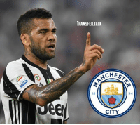 Man City are interested in signing Dani Alves from Juventus, according to Sky Sports - There have been talks about Alves moving to City, but we understand there is still some way to go before an agreement is reached.: TRANSFER TALK  CHESA  94  CITY Man City are interested in signing Dani Alves from Juventus, according to Sky Sports - There have been talks about Alves moving to City, but we understand there is still some way to go before an agreement is reached.