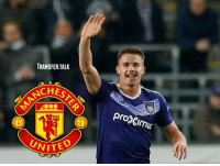 Memes, Manchester United, and Search: TRANSFER.TALK  CHESTER  progimus  UNITED  UNIT Manchester United are set to send scouts to watch Anderlecht midfielder Leander Dendoncker, as their search for a new midfielder continues, according to De Morgen.