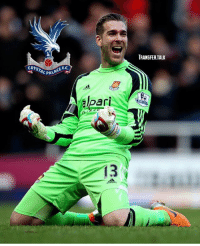 Crystal Palace are in talks with West Ham over a £3m deal for goalkeeper Adrian, reports The Daily Mail.: TRANSFER.TALK  CRYSTAL PA  L PALA  CE F.C.  PALACE FC  ari  13 Crystal Palace are in talks with West Ham over a £3m deal for goalkeeper Adrian, reports The Daily Mail.