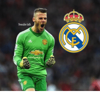 Memes, 🤖, and Sales: Transfer talk David DeGea fuels speculation he will quit ManchesterUnited for RealMadrid after putting £3.85million mansion up for sale