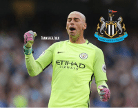 Chelsea, Memes, and Free: TRANSFER.TALK  ETI  AIR WAYS  NEWCASTLE UN Chelsea have been strongly linked with former Manchester City goalkeeper Willy Caballero, but a report today suggests Newcastle are set to enter the race for the free agent. - transferwindow transferrumour transfertalk transfernews transfer