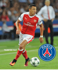 Arsenal, Memes, and Summer: TRANSFER TALK  Fly  at  RAR  NT. GER Alexis Sanchez has been urged to stall on a new Arsenal deal with PSG plotting a cut-price £60m summer move for the Chilean star.