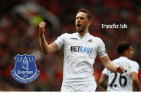 "Ronald Koeman reportedly wants Everton to have completed the signing of Swansea's Gylfi Sigurdsson by the start of next week. - The Times say the Toffees are hoping to ""finally push through a club-record deal"" for the midfielder. - Sigurdsson is apparently top of Koeman's wishlist, with the Swans after £50m for the Iceland international.: Transfer.tallk  Tomn  BETEAST  Everton  SI OPTIN Ronald Koeman reportedly wants Everton to have completed the signing of Swansea's Gylfi Sigurdsson by the start of next week. - The Times say the Toffees are hoping to ""finally push through a club-record deal"" for the midfielder. - Sigurdsson is apparently top of Koeman's wishlist, with the Swans after £50m for the Iceland international."
