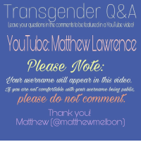 Transgender Q&A Eave You Questions Inthe Commenistobe