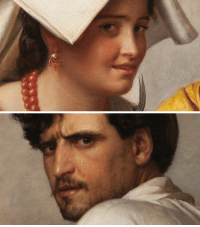 Google, Love, and Tumblr: transmanrichardstrand:  hoku-san:  paper-mario-wiki:  closeupofpaintings:   Carl Bloch -  In a Roman Osteria, 1866 (detail), oil on canvas       I LOVE the whole painting here it is: