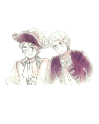 England, Target, and Tumblr: transparentalia:  Transparent pirate England and Prussia