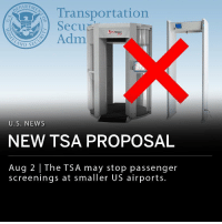 "According to internal documents obtained by CNN, the Transportation Security Administration may stop passenger screenings at smaller airports. Cutting security measures at the 150 smallest US airports could save the TSA $115 million a year, however, security officials have been critical of the proposal. ""Al Qaeda and ISIS still regard aviation as a priority target. That includes aircraft where you have fewer than 60 people on board,"" says terrorism analyst Paul Cruickshank. ___ TSA's Michael Bilello said in a statement Wednesday: ""Any potential operational changes to better allocate limited taxpayer resources are simply part of predecisional discussions and deliberations and would not take place without a risk assessment to ensure the security of the aviation system."": Transportation  SecuD  se  3 ProVision  ATD  Adm  U.S. NEWS  NEW TSA PROPOSAL  Aug 2 The TSA may stop passenger  screenings at smaller US airports. According to internal documents obtained by CNN, the Transportation Security Administration may stop passenger screenings at smaller airports. Cutting security measures at the 150 smallest US airports could save the TSA $115 million a year, however, security officials have been critical of the proposal. ""Al Qaeda and ISIS still regard aviation as a priority target. That includes aircraft where you have fewer than 60 people on board,"" says terrorism analyst Paul Cruickshank. ___ TSA's Michael Bilello said in a statement Wednesday: ""Any potential operational changes to better allocate limited taxpayer resources are simply part of predecisional discussions and deliberations and would not take place without a risk assessment to ensure the security of the aviation system."""