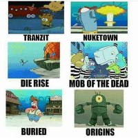 Bo2 Zombies maps 😂: TRANZIT  NUKETOWN  DIE RISE  MOB OF THE DEAD  Cs  BURIED  ORIGINS Bo2 Zombies maps 😂