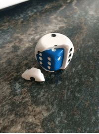 Reddit, Tumblr, and Blog: tranzluzenz: sixpenceee:  A dice within a dice in case your original dice dies. (Source)  It's hatching…