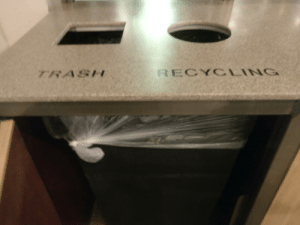 Thanks Taco Bell for helping me recycle: TRASH  RECYCLING Thanks Taco Bell for helping me recycle