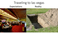 Las Vegas: Traveling to las vegas  Expectations  Reality