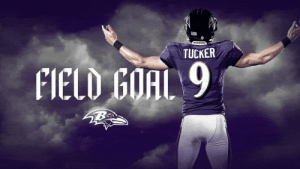 RT @Ravens: 3 more from @jtuck9!  That makes it 45-6 with 6:36 left to play. https://t.co/JEBCWfUBMK: TRAVENS  TUCKER  FIELD GOAL 9 RT @Ravens: 3 more from @jtuck9!  That makes it 45-6 with 6:36 left to play. https://t.co/JEBCWfUBMK