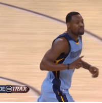 """Dunk, Sports, and Ups: TRAX  TNT @aa000g9 comes up with the clutch steal and dunk, tells @warriors fans he's """"First Team All-Defense"""" 👊🔥💯"""