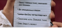 Dr. Evil , Frozen, and Love: TRAYEL THROWOH TIME, BACKWARD  AND PORWARD  THREE SOME NITH JAPANESE TWINS  EARN DADDY'S RESPECT